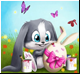 Funny bunny Подарок от Purple Glow Love is in the air!
